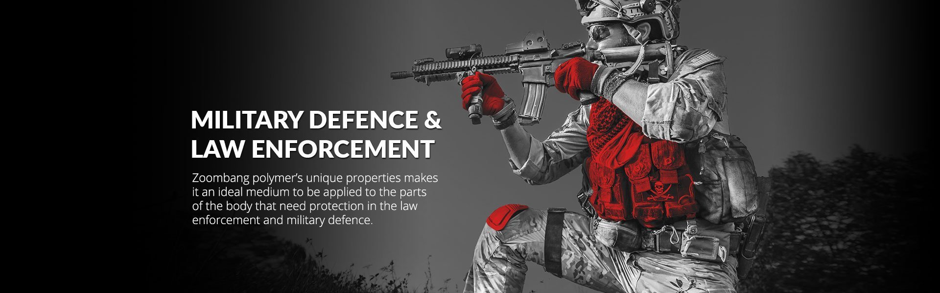 military defence and law enforcement tactical protection